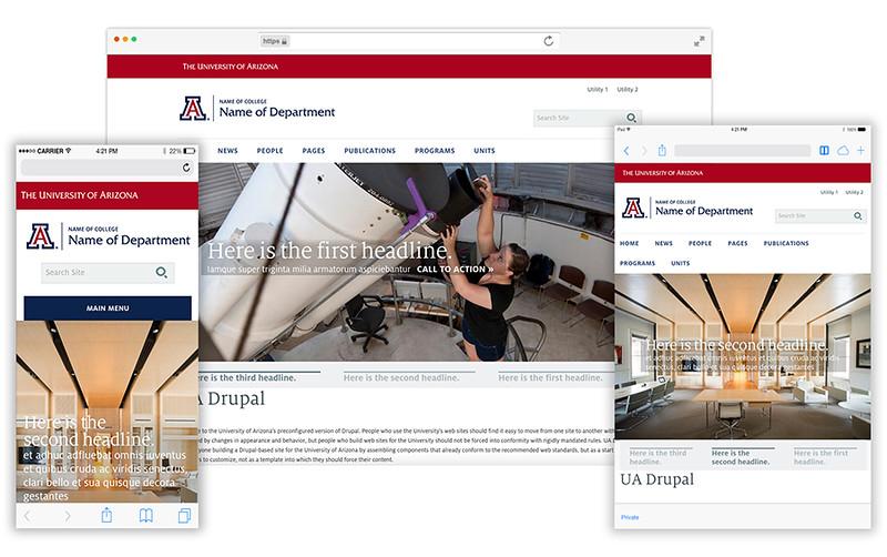 UA Quickstart on different devices