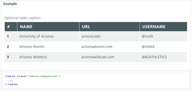 UA Bootstrap form element